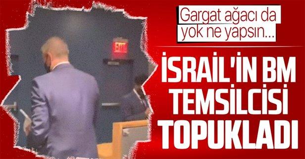İsrail Büyükleçisi Gilad Erdan BM'den kaçtı