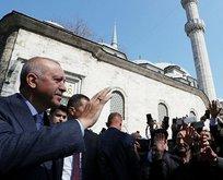 Başkan Erdoğan'dan Eyüpsultan'a ziyaret