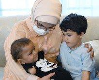 Muhammed bebek Emine Erdoğan'ın misafiri oldu