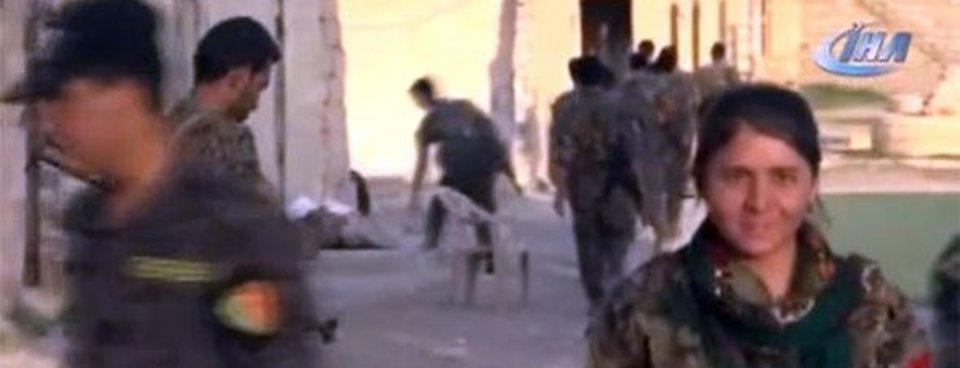 Sincar'dan çekildiğini iddia eden PKK üsleri böyle görüntülendi