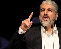 Hamas lideri Meşal'den İsrail'e uyarı