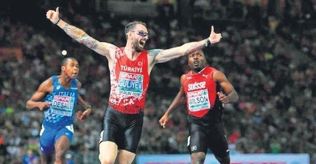 Milli atletler madalya peşinde