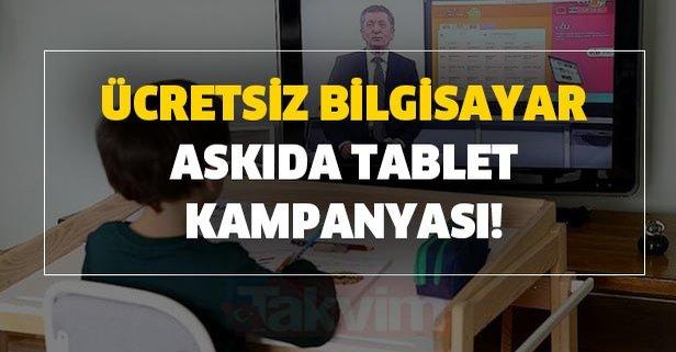 Ücretsiz bilgisayar askıda tablet kampanyası! THY, Kızılay, Tv8 bir çok belediye...
