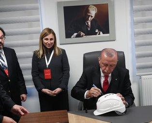 Başkan Erdoğan telsizden talimat verdi! İmzasını da attı...