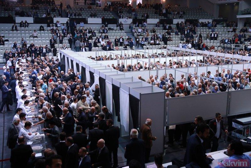 Beşiktaş'ta büyük gün! Başkan adayları oyunu kullandı