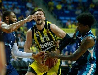 Fenerbahçe Beko geriden geldi, seride 1-0 öne geçti | Fenerbahçe Beko: 82 - Türk Telekom: 72