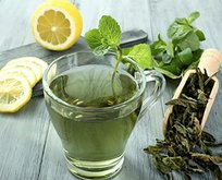 Yeşil çayla uzun yaşa