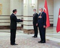 Gomez, Başkan Erdoğan'a güven mektubu sundu