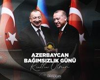 Başkan Erdoğan'dan Azerbaycan'a mesaj: Her alanda destekleyeceğiz!