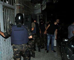 Eylem hazırlığındaki PKKlılara operasyon!