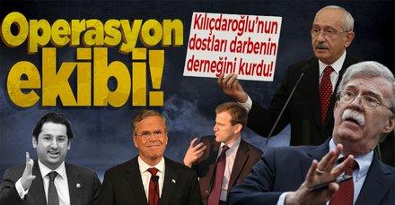 Kılıçdaroğlu'nun dostları darbenin derneğini kurdu