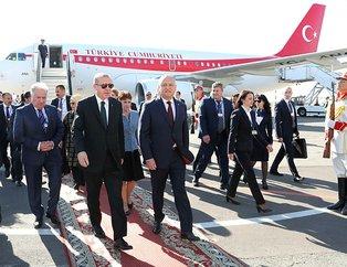 Başkan Erdoğan ve eşi Emine Erdoğan Moldovada resmi törenle karşılandı