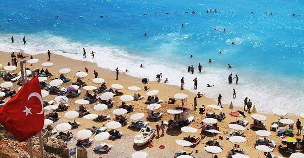 Yabancı turist sayısında rekor artış