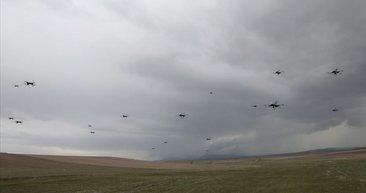Kamikaze drone 'Kargu' düşmana göz açtırmıyor