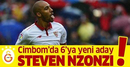 Galatasaray Fransız Steven Nzonzi'ye kanca attı