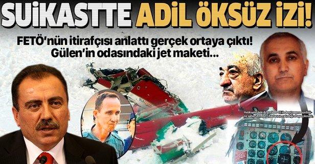 Yazıcıoğlu suikastında FETÖ'cü Adil Öksüz izi
