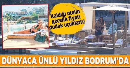 """Bodrum'da tatil yapan Dünya starı Rita Ora'dan """"Seni seviyorum Türkiye"""" paylaşımı"""