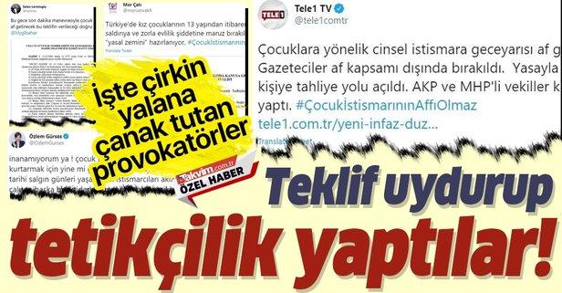 CHP yandaşlarından çirkin yalan!