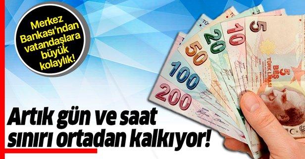 Merkez Bankası'ndan vatandaşlara büyük kolaylık!