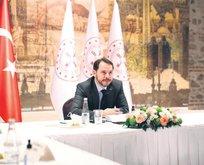 'Türkiye'yi hedefine taşıyacak adımlara devam'