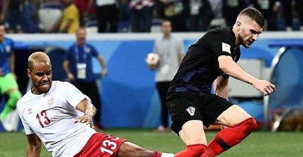 Rusya'nın rakibi Danimarka'yı penaltılarla yıkan Hırvatistan