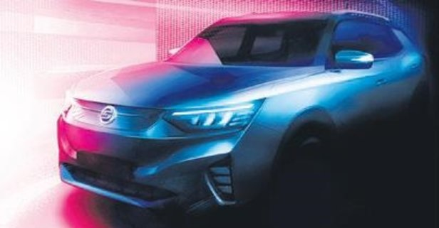 Ssangyong'un yeni nesil otomobili