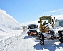 Bitlis'te kar kalınlığı 2 metreye ulaştı!