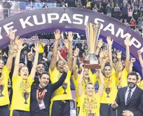 Kupa kraliçesi Fenerbahçe