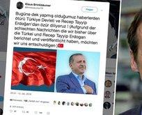 Alman derginin yayın yönetmenine Erdoğan'dan özür dilettiler!