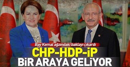 Kemal Kılıçdaroğlu'ndan ittifak itirafı! CHP-HDP-İP birleşiyor