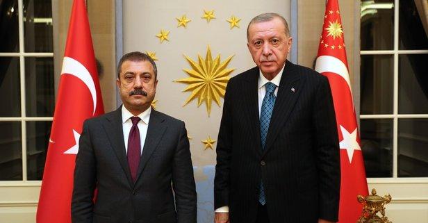 Başkan Erdoğan, Kavcıoğlu'nu kabul etti