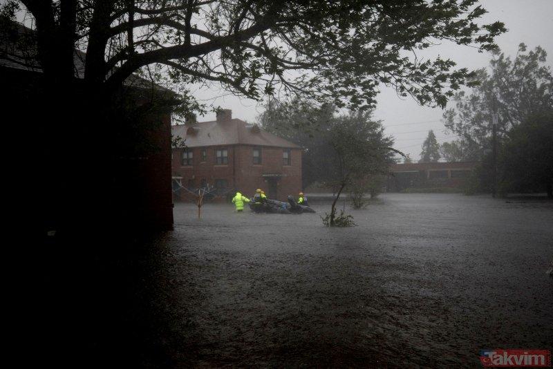 Kuzey Caroline, Florence felaketini yaşıyor