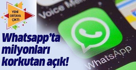 WhatsApp'ın güvenlik açığı milyonları etkiledi!