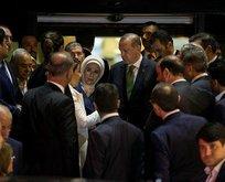 Erdoğan'dan Yüksel'in ailesine taziye ziyareti