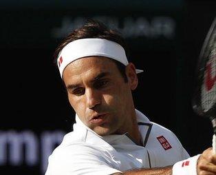 Roger Federer Wimbledon'da finalde!