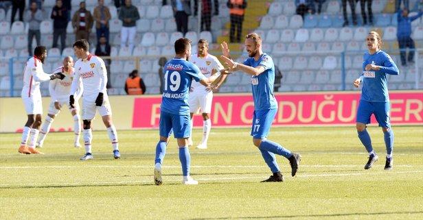 Erzurumspor yendi F.Bahçe düşme potasına indi