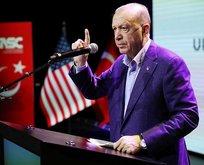 Başkan Erdoğan'dan ABD'de önemli açıklamalar
