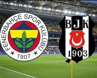 İşte Fenerbahçe-Beşiktaş derbisinin ilk 11leri