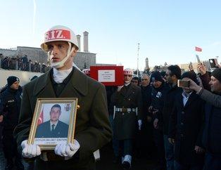 Afrin şehidi Piyade Uzman Onbaşı Umut Öznütepe, Erzurum'da son yolculuğuna uğurlandı