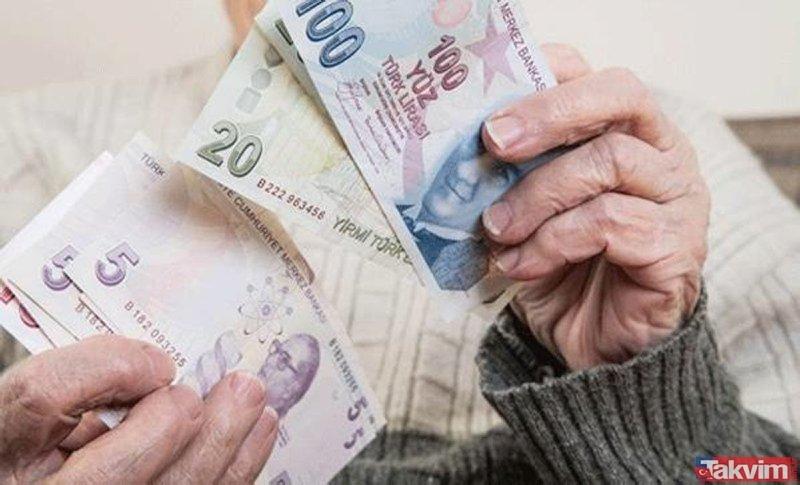 Emeklinin zammı cepte! SSK, Bağ-Kur ve memur emeklilerinin güncel maaşları...