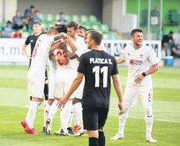 Sivasspor tur için sahada