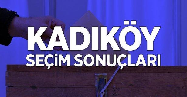 İstanbul Kadıköy 2019 yerel seçim sonuçları