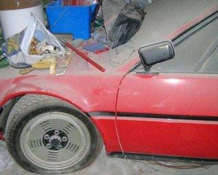 34 yıl garajda kalan BMW'nin inanılmaz değişimi!