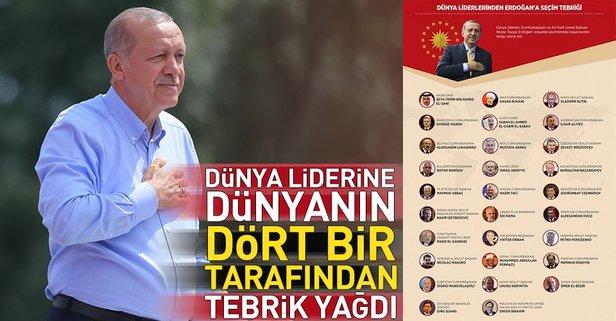 Putinden Erdoğana seçim tebriği 83
