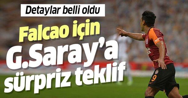 Falcao için Galatasaray'a sürpriz teklif