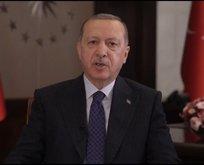 Erdoğan'dan ABD'deki Müslümanlara bayram mesajı