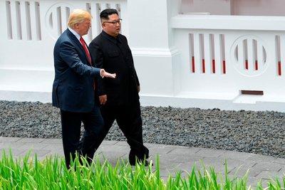 ABD- Kuzey Kore zirvesi! Trump ve Kimden tarihi buluşma