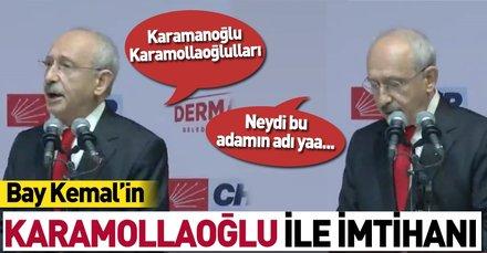 Kemal Kılıçdaroğlu'ndan 'Karamollaoğlu' gafı