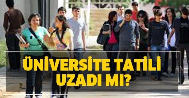 YÖK son dakika üniversite uzaktan eğitim ne zaman başlayacak?