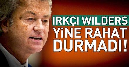 """Yine rahat durmadı! Irkçı Wilders'tan """"İslami ifadeler yasaklansın"""" teklifi"""